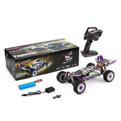 Wltoys 124019 Rc Car 2.4g 112 4wd 55km/h High-speed Off-road Truck Rtr Us Ship