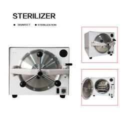 Dental 18l Autoclave Steam Sterilizer Lab Disinfection Cabinet With Trays Tr250m