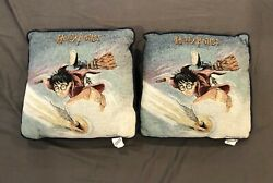 2000 Harry Potter Woven Tapestry Pillows