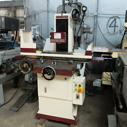 6andrdquo X 18andrdquo Chevalier Hand Feed Ball Roller Surface Grinder Model 618 M New 2000