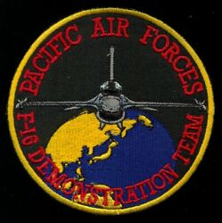 Usaf 35th Fighter Wing Pacific Air Forces F-16 Demonstration Team Patch Kk