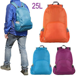25L Portable Foldable Travel Backpack Outdoor Sports Hiking Camp Waterproof Bag $6.89