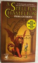A SPELL FOR CHAMELEON a Xanth novel by Piers Anthony 1980 Del Rey paperback