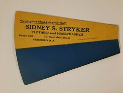 Freehold Nj Local History Monmouth County Stryker Store West Main St Horn 1900s