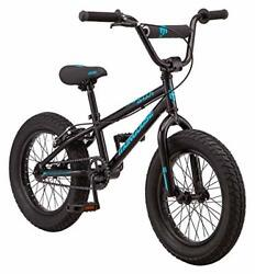 Mongoose Argus Mx Kids Fat Tire Mountain Bike 16-inch Wheels Single Speed 3-i