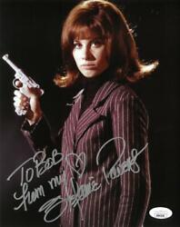 Stephanie Powers Signed Girl From Uncle Autographed 8x10 Photo Jsa Mm43338
