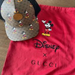Disney Mickey Mouse Collaboration Baseball Mesh Cap Hat Size M Limited New