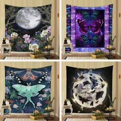 Nordic Psychedelic Tapestry Wall Hanging Background Blanket Home Bedroom Decor