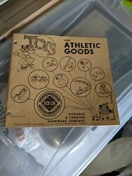 Vintage 1957 Richards And Conover Rich-con Hardware Toys And Athletic Catalog