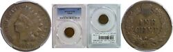 1909-s Indian Head Cent Pcgs Vf-35