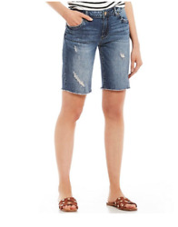 Kut From The Kloth Sophie Bermuda Shorts Multi Size 2 1275