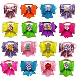 Dog Bow Ties Rabbit Eggs Style Pet Supplies For Small Pet Neckties Accessories