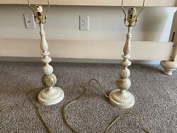 Ethan Allen Table Lamps / French Country Style Or Farmhouse