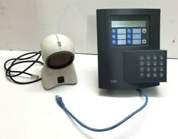 Kaba B-net 9520 Time And Attendance Termainal Bnet With Orbit Ms-7120 Scanner