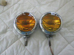 1946 1947 1948 1949 1950 Ford Factory Road Lamps / Fog Light Lights Ge 4015a