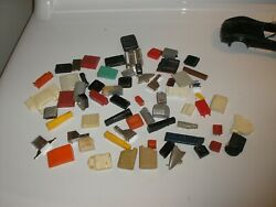 Large Lot Of Vintage 1/24 1/25 Gas Tanks And Cans For Parts Free Shipping