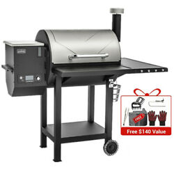 Asmoke 8-in-1 Cooking Pellet Grill Wood Bbq Smoker Auto Temperature Control