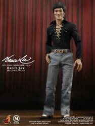 M Icon Bruce Lee 1/6 Scale Fully Poseable Figure Hot Toys Casual Wear 5382kn