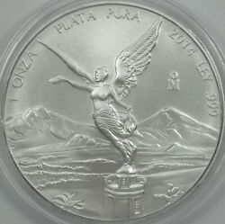 2014 Mexican Libertad 1oz Bu In Capsule Excellent Condition - Bulk Pricing