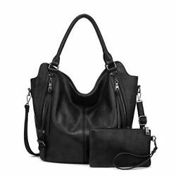 Women Hobo Bags PU Leather Shoulder Bags Large Purses and Handbags with... $62.29