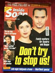 Inside Soap Mag 17/03/2000 Michael Greco Steven Pinder Kate Ritchie Gary Lucy Uk