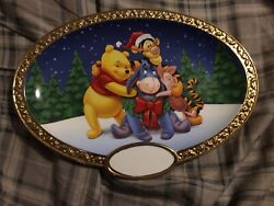 Friends Make The Best Christmas Presents Walt Disney Collectibles Plate
