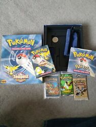 pokemon tempest gift box base fossil and jungle booster GBP 1600.00