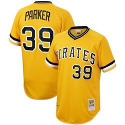 Pittsburgh Pirates Dave Parker 39 Mitchell Ness Gold 1979 Authentic Jersey