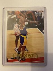 Kobe Bryant With Michael Jordan Fleer Tradition 98 99 #1 $39.99