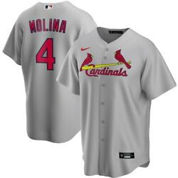 St. Louis Cardinals Yadier Molina 4 Nike Menand039s Official Mlb Player Jersey