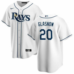 Tampa Bay Rays Tyler Glasnow 20 Nike Men's Official Mlb 2020 Player Jersey