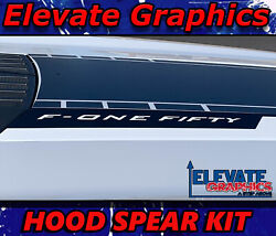 For Ford F150 Hood Spears Stripes Vinyl Graphics 3m Decals Stickers 2021-2022