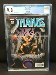 Thanos 13 2nd Printing Variant Cgc 9.8 Nm / Mt 1st Cosmic Ghost Rider Cover