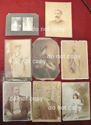 David Bispham Opera Singer Antique Hand Signed Autographed Photos And Book Lot