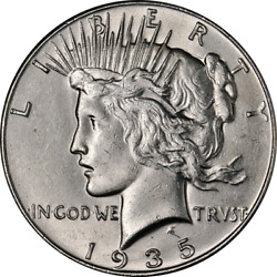 1935-p Peace Dollar Great Deals From The Executive Coin Company