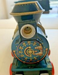 Vintage Tin Trade Mark Modern Toys Western Special Locomotive Made In Japan
