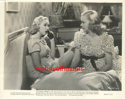 Vintage Betty Grable Florence George College Swing And03938 Early Publicity Portrait