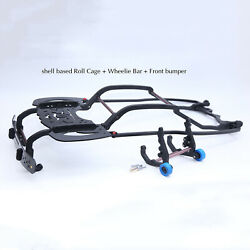 For 1/7 Arrma Mojave 6s Exb Rc Car Shell Based Roll Cage And Wheelie Bar And Bumper