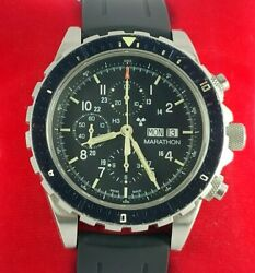 Marathon Chronograph Ww194014 Military Issue Csar Search And Rescue Pilot Watch