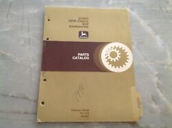 John Deere 6329d Oem Engine And Accessories Parts Catalog Pc-1418