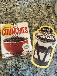Carvel Crunchies Cereal Box Single Limited Edition 2oz