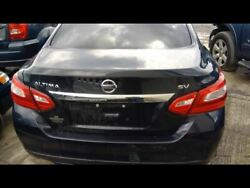 Trunk/hatch/tailgate Sedan With Rear View Camera Fits 16-17 Altima 1149263