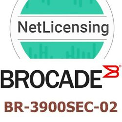 Br-3900sec-02brocade Sw Secure Fabric Os License, Permanent/unlimited/full
