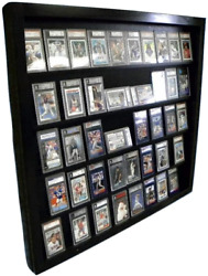Sports Card Display Case For 50 Psa Graded Cards Deep Beckett Made In Usa New