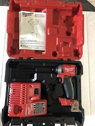 Milwaukee 2853-22ct 1/4andrdquo Hex Impact Driver Kit - Tool Only Read Description