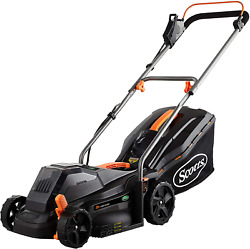 Scotts Outdoor Power Tools 62014s 14-inch 20-volt Cordless Lawn Mower Black New