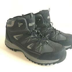 Denali Summit Hiking Boot Black Grey Size Youth 5 Excellent Condition