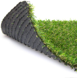 Warmshe Customized Sizes 35mm Realistic Artificial Grass Turf 1ftx3ft3 Square F