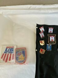 Winter Olympic Pin Collection 1964-1992 Pin Back Private Collection 485 Pins