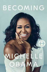 Michelle Obama Signed Becoming Hc 1/1 Flotus Memoir Barack First Lady Rare New
